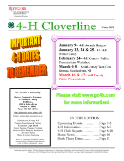 Winter 2015 - Cooperative Extension of Gloucester County