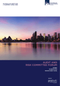 AUDIT AND RISK COMMITTEE FORUM 2015