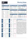 Morning Notes - LKP Securities