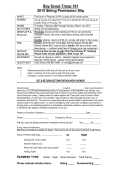 Boy Scout Troop 101 2015 Skiing Permission Slip