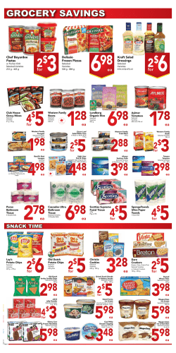 Weekly Flyer - Queensdale Market