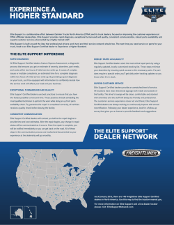 Freightliner Dealer Network