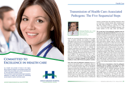 Transmission of Health Care-Associated Pathogens: The Five