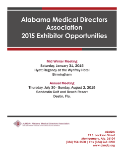 to download the ALMDA 2015 Vendor Prospectus.
