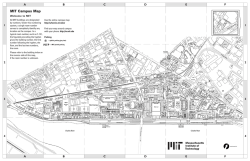 MIT Campus Map
