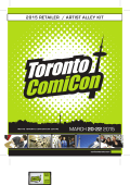 MARCH 20-22 2015 - Toronto Comicon