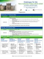Programme - Regional Studies Association