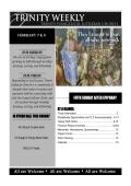 Trinity Weekly - Trinity Lutheran Church