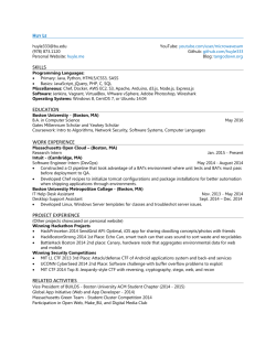 Resume - Huy Le