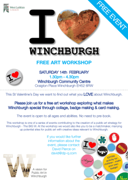 winchburgh free art workshop