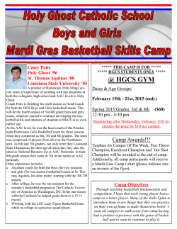 @ HGCS GYM - Holy Ghost Catholic School
