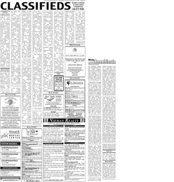 Classifieds - Muleshoe Journal