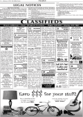 Classified Ads - The Shelley Pioneer