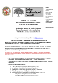 ENC General Board Meeting Agenda 1-28-15