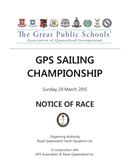 2015 GPS Carnival (Fleet Racing)