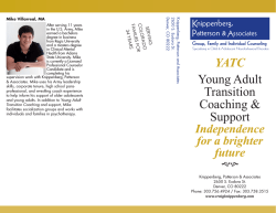 Young Adult Transition Coaching