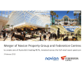 Merger of Federation Centres and Novion Property Group presentation