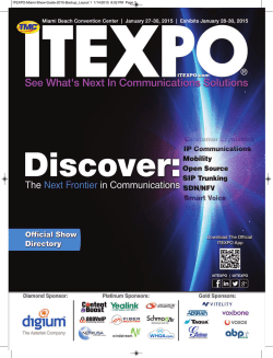 ITEXPO Show guide