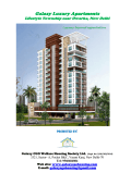Galaxy Luxury Apartments - Galaxy Central Govt. Officers Welfare