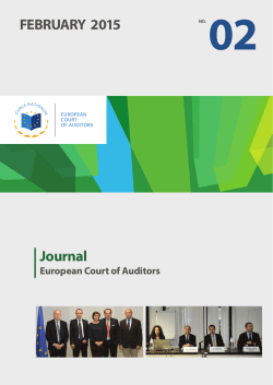 Journal 02/2015 - European Court of Auditors