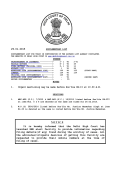 29.01.2015 NOTICE It is hereby informed that the Delhi High Court