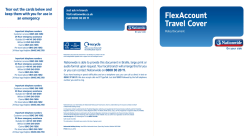 FlexAccount Travel Cover – Policy Document This will