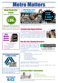 Newsletter - Des Moines Metro Credit Union