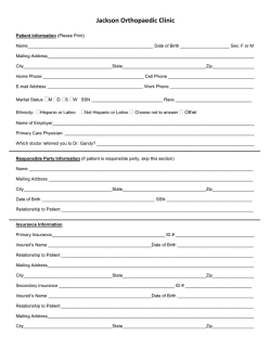 Download New Patient Paperwork