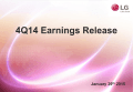 4Q 2014 Performance Results