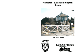 February - Plumpton and East Chiltington News