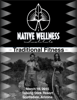 Traditional Fitness - Native Wellness Institute