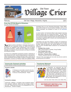 Village Crier - Old Town Village