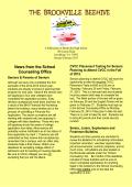 January-February 2015 Beehive Newsletter