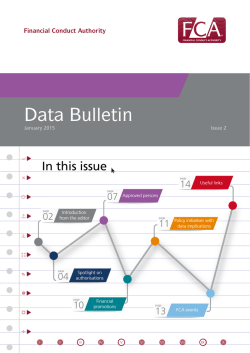 Data bulletin: Issue 2 (January 2015)