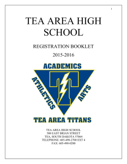 tea area high school course offerings