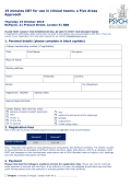 Registration Form - Royal College of Psychiatrists