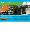 Bin Collection Calendar and Recycling Guide 2015