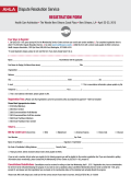 Printable Registration Form. - The American Health Lawyers