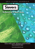 Sievers School of Fiber Arts
