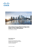 Cisco IOS Configuration Guide for Autonomous Aironet Access