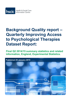Final Q2 2014-15: Background data quality report []