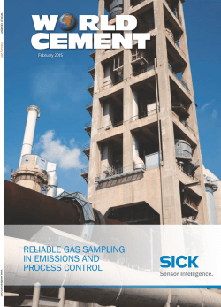 PDF preview - World Cement