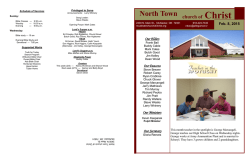 North Town church of Christ, McAlester, OK is a