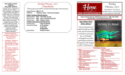 Victory In Jesus - Hope Lutheran Church