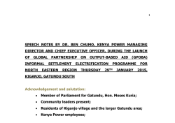 Notes - MD - GPOBA - Gatundu South - Edited