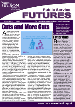 Public Services Futures 11 - Winter 2015