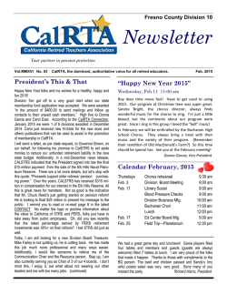 Click here for the February_2015_newsletter - CRTA