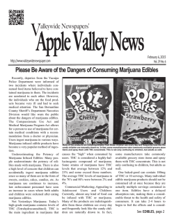 APPLE VALLEY NEWS - Valleywide Newspapers