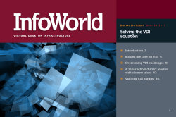 Solving the VDI Equation