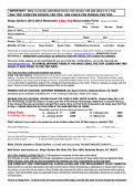 2015-2015 Two Day Trip Form